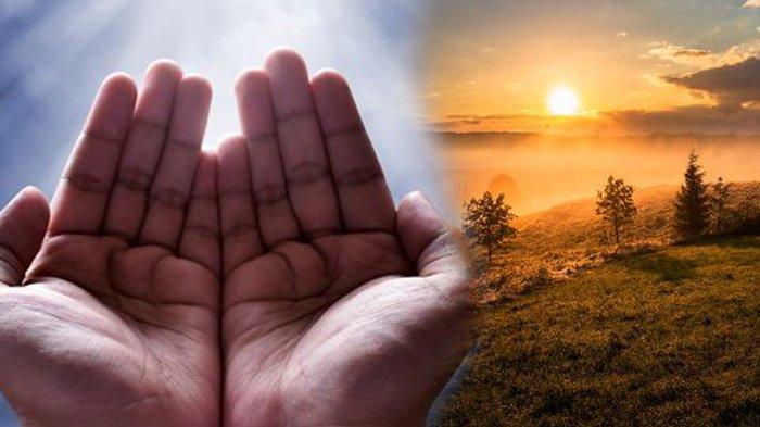 Bacaan doa di pagi hari.