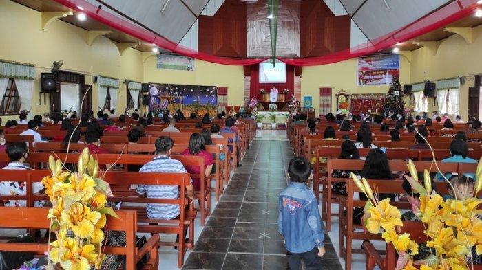 Ibadah Natal GMIBM Pniel Tumobui, Kotamobagu, Pandemi Covid-19 Bukan Alasan untuk Tidak Bersyukur