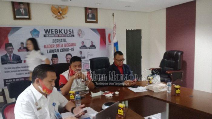 Webinar Sukses Hadirkan Prabowo Subianto, Kebangpol Siapkan Diskusi Daring Bersama Wapres
