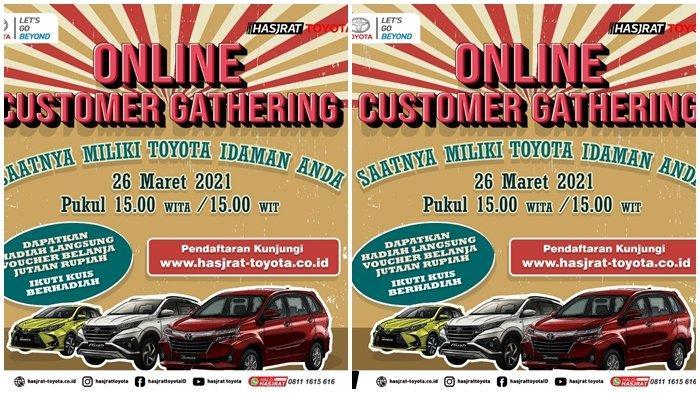 Harga Toyota Turun hingga Puluhan Juta Rupiah, Ikuti Online Customer Gathering Jumat 26 Maret 2021