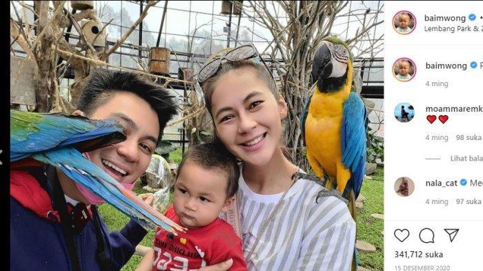 Ada Apa? Bawa Kiano Tiger Wong dan Paula Verhoeven, Baim Wong Minta Maaf ke Pedagang Burung