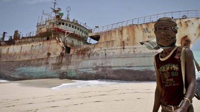 (Ilustrasi - bajak laut Somalia/AP Farah Abdi Warsameh)