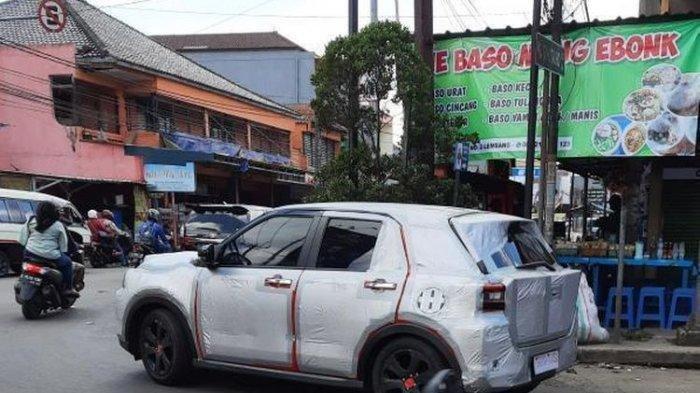 Bakal Meluncur di Tanah Air?Daihatsu Rocky Tertangkap Kamera dalam Balutan Kamuflase Lagi Uji Coba