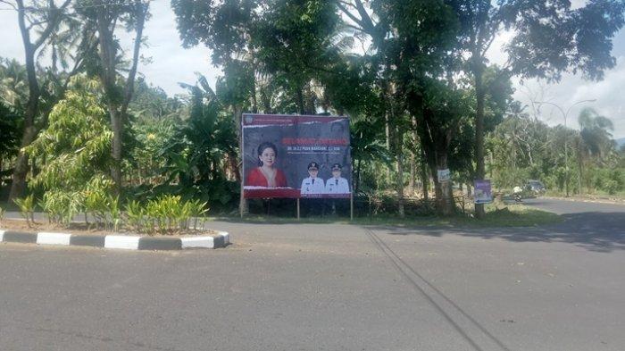 Baliho Puan Maharani Bertebaran di Manado dan Minut, di Medsos Pun Heboh