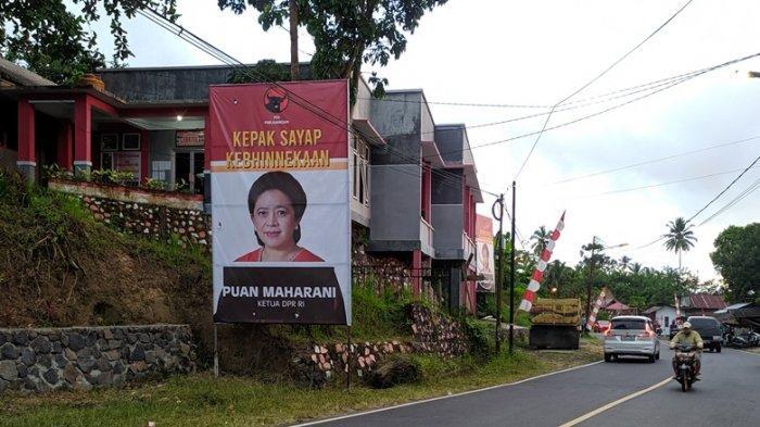 Baliho Puan Maharani Bertebaran di Mitra, Sumendap: Kami yang Pertama Deklarasi Puan Presiden