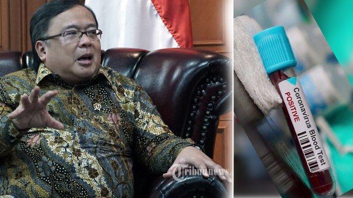 Kabar Kasus Covid 19, Komisaris Utama Telkom Bambang Brodjonegoro Terinfeksi, Kini Dirawat Intensif