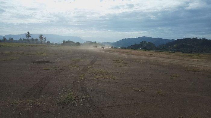 Pengerjaan Dikebut Tahun Ini, Bandar Udara Lolak Bakal Sepanjang Tiga Kilo