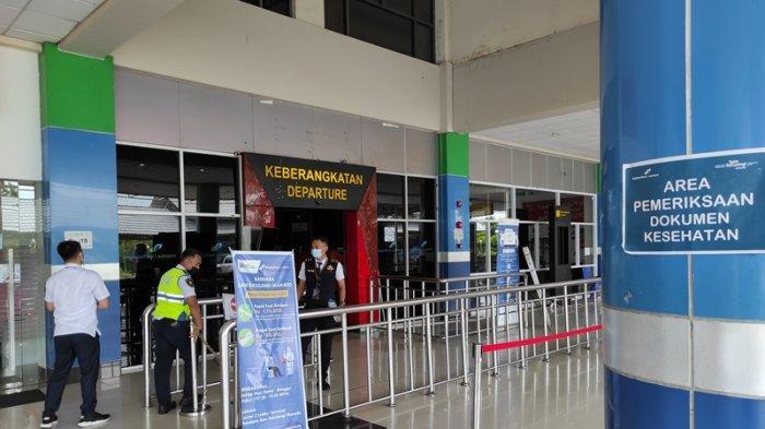Hari Terakhir Larangan Mudik, Bandara Samrat Sepi, Cuma Layani 1 Penerbangan Berpenumpang