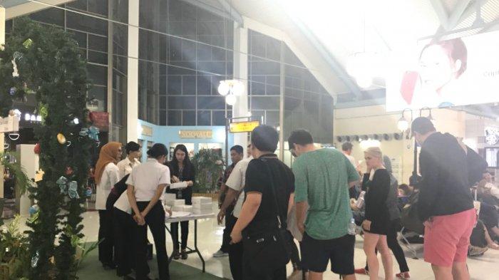 480 Penumpang Terdampak Akibat Kerusakan fasilitas di Airside Bandara Samrat