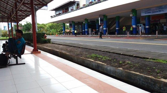 Gini Kondisi Bandara Sam Ratulangi Manado usai Demo Tolak Tokoh 212