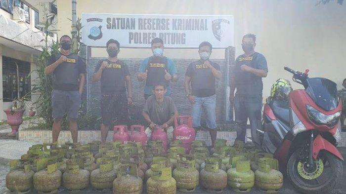 Bang Jeck Cs Bekuk Laki-Laki Spesialis Curi Tabung Gas di Bitung