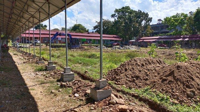Pasar Kuliner Kotamobagu Mulai Dilengkapi Anggarannya Capai Rp 1,9 Miliar, Ini Item yang Dibangun?