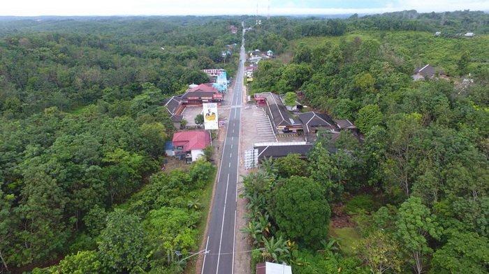 Foto Penampakan Bukit Soeharto Kaltim, Tempat Pemindahan Calon Ibu Kota RI yang Baru Ditinjau Jokowi
