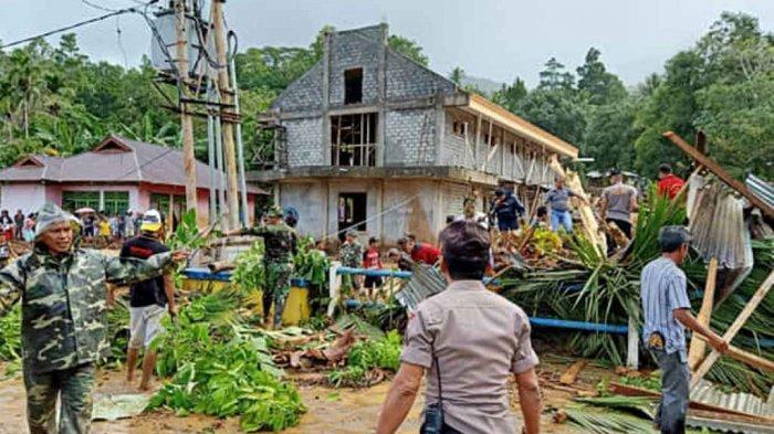Banjir Bandang dan Tanah Longsor di Kampung Lebo, 2 Warga Meninggal Dunia