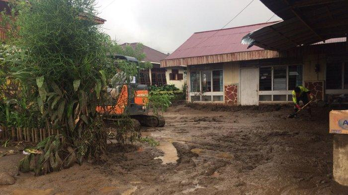 90 Rumah di Minahasa Tenggara Terdampak Banjir Bandang, 10 Hanyut