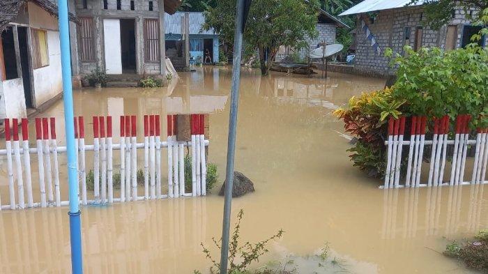 Puluhan Rumah di Molobog Timur Kabupaten Boltim Terendam Banjir