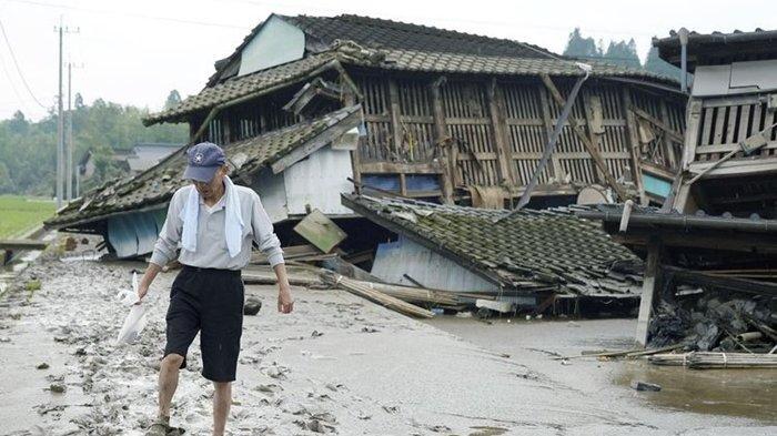 Banjir Dahsyat Terjang Jepang Setelah Hujan Lebat, 49 Orang Tewas, 1,2 juta Orang Diminta Evakuasi