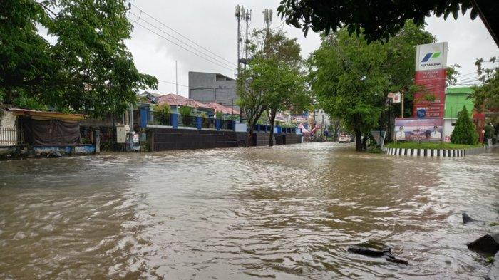Banjir di Wilayah Manado, Sabtu (17/7/2021)