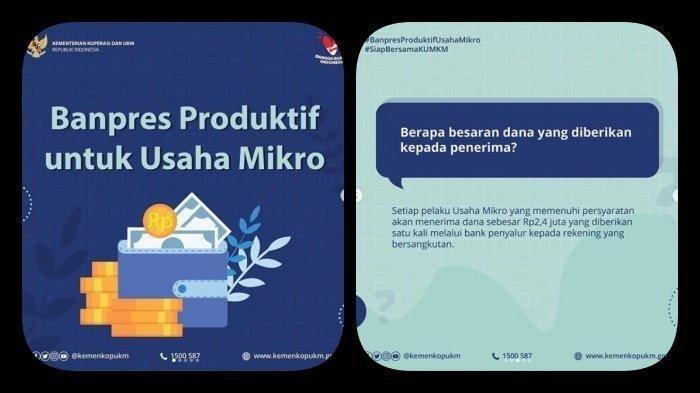 Banpres Produktif Usaha Mikro (BPUM /BLT UMKM)