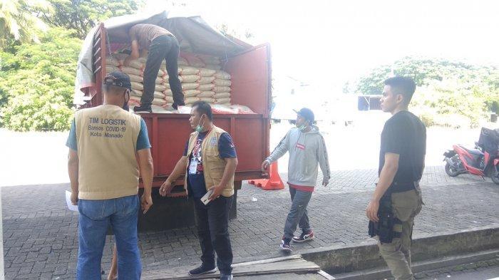 Hari ke-12, Bansos Pemkot Manado Tahap Dua Sudah 30 Ribu Paket yang Tersalur