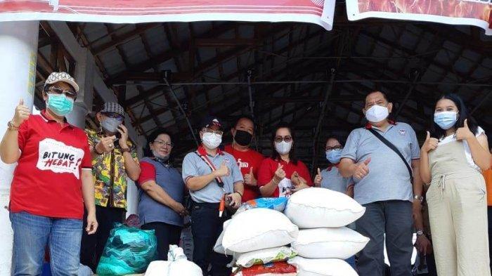 Maurits Mantiri Apresiasi Kerukunan di Bitung, 11 Gereja GMIM Bantu Korban Kebakaran Pasar Tua