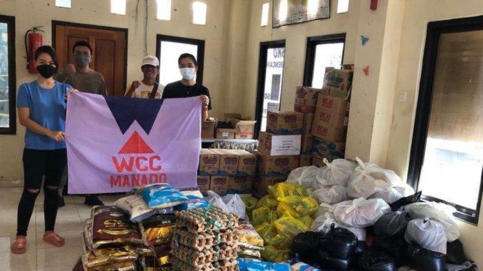Bantuan dari WCC Manado ini disalurkan ke beberapa titik. Salah satunya di Kelurahan Perkamil.