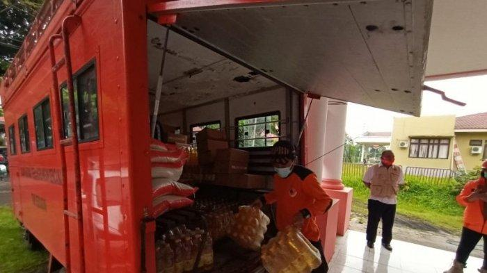 Sejumlah Daerah di Sulut Bantu Korban Banjir di Minahasa Tenggara