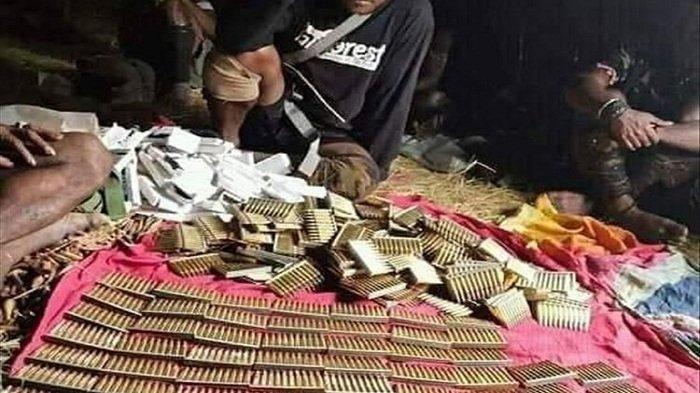 Polisi Tangkap 5 Orang Pemasok Senjata ke KKB Papua di Nabire