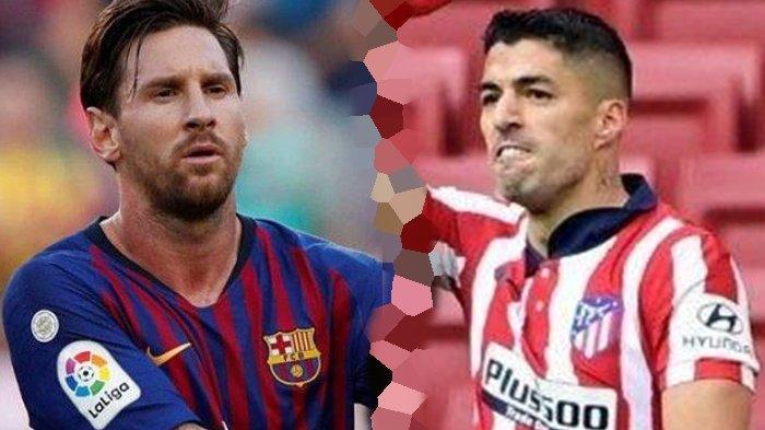 Barcelona vs Atletico Madrid: Perseteruan Messi dan Suarez Berebut Tahta Juara