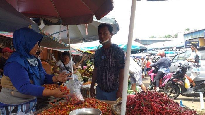 Harga Barito Alami Penurunan di Manado, Cabai Merah dan Rawit Anjlok