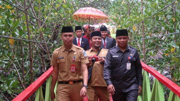 Wisata Mangrove Dudepo Ramai Dikunjungi saat Libur Tahun Baru