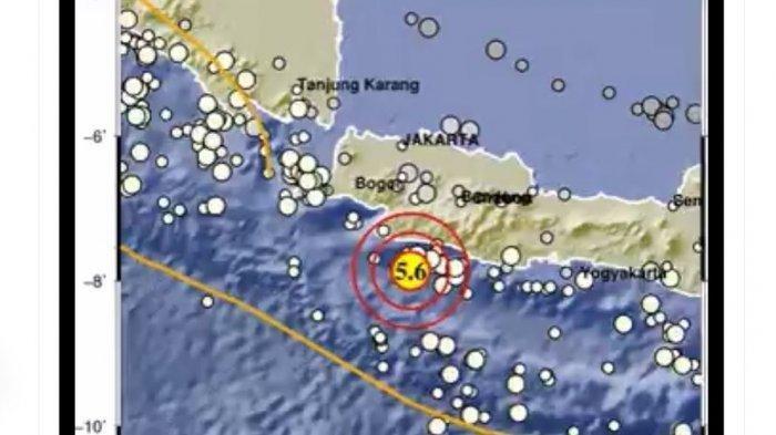 Gempa Bumi Tadi Selasa (27/04/2021), BMKG: Tak Berpotensi Tsunami, Ini Magnitudo dan Lokasi Gempa