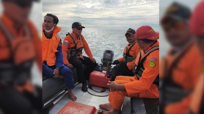 Basarnas Gunakan 2 Perahu Karet Mencari Seorang Warga Bolmong yang Diduga Hilang Saat Melaut