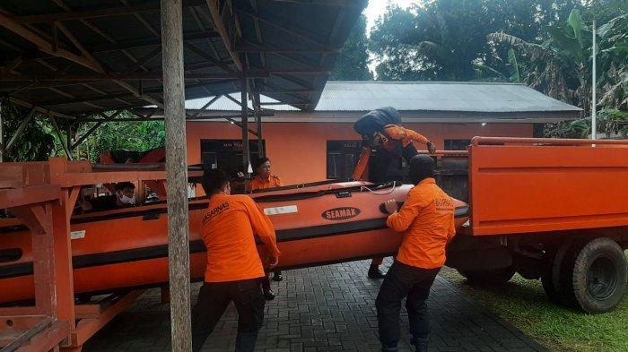 BREAKING NEWS Basarnas Manado Cari Bocah Aguero Ondang yang Hanyut di Paal Dua