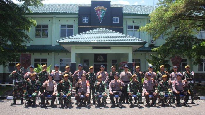 Batalyon B Pelopor Inuai Bolmong Rayakan HUT TNI ke 76 di Markas Armed 19/105 Tarik Bogani