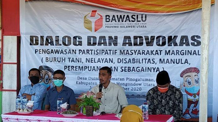 Bawaslu Sulut Gelar Dialog dan Advokasi Pengawasan Partisipatif Masyarakat di Bolmut