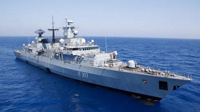 Ada Apa Jerman Mendadak Kirim Kapal Perang ke Laut China Selatan?