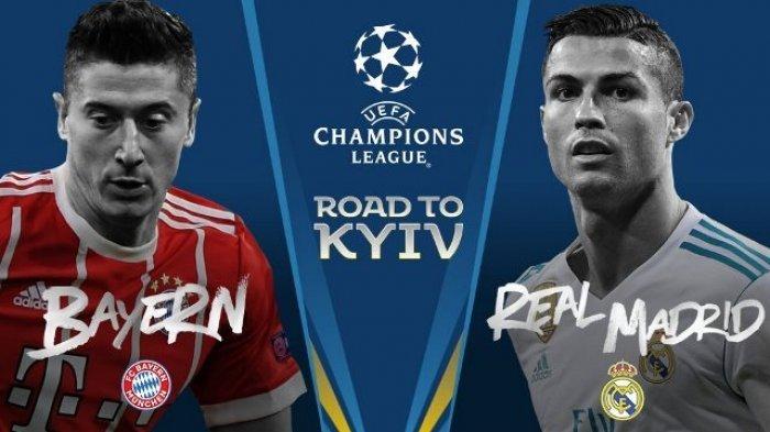 Live Streaming SCTV Bayern Muenchen Vs Real Madrid