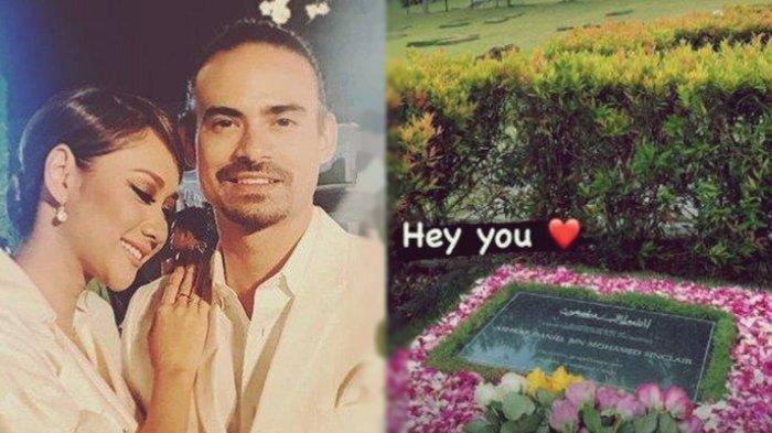 BCL Ziarah ke Makam Suami, Bagikan Potret Pusara Ashraf Sinclair Penuh Bunga