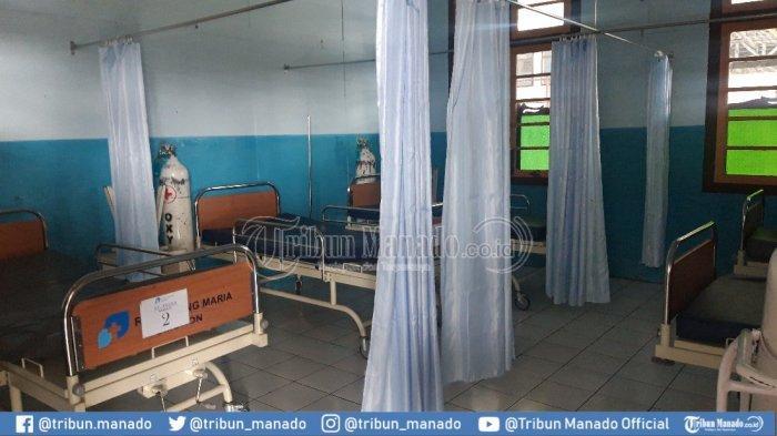 Beberapa Kamar Pasien Tampak Sepi di RS Gunung Maria