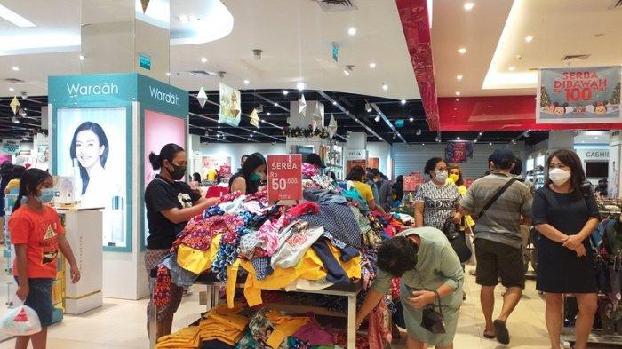 Pusat Perbelanjaan Mulai Ramai Pasca-Natal, Pengunjung Sempat Takut