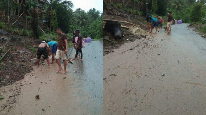 Breaking News:Dua Desa Kecamatan Tomini Bolsel Tergenang Air, Warga Diminta Waspada