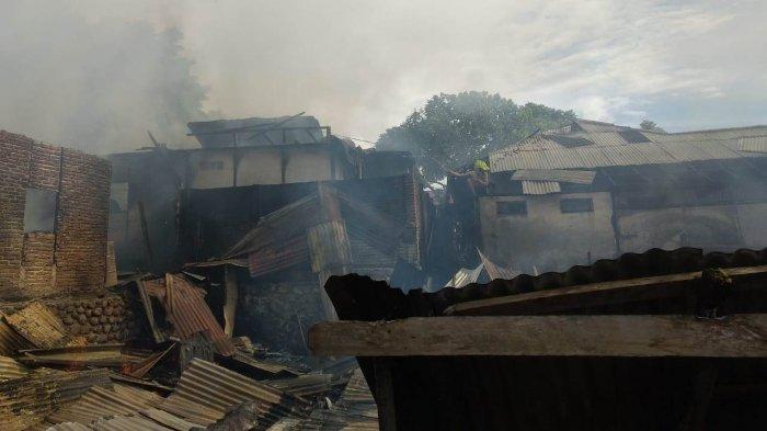 Kebakaran di Kotamobagu, Polisi Pastikan Tak Ada Korban Jiwa