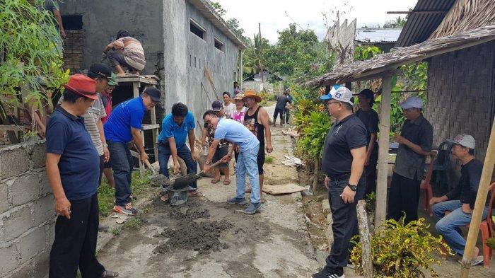 Stefanus Liow Bersama P/KB Wilayah Pinaesaan Langowan Gelar Bedah Rumah dan Konsistori