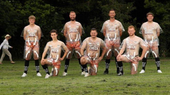 Jersey Unik Bedale AFC, Dirilis Tembus Pandang Untuk Kampanye Kanker Prostat