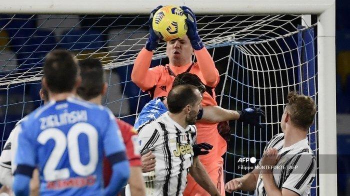 SKOR Napoli VS Juventus, Liga Italia Hari Ini, Gol Kemenangan Partenopei Dicetak Lorenzo Insigne
