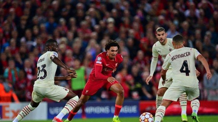 Hasil Liga Champions: Liverpool Sempat Tertinggal di Babak Pertama, Sukses Taklukkan AC Milan