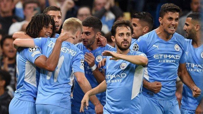 Hasil Liga Champions Manchester City vs RB Leipzig Skor 6-3,  The Citizens Pesta Gol di Kandang