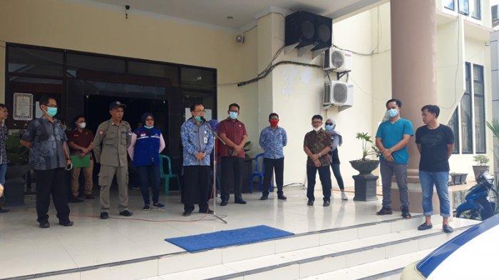 Sekda Sonny Warokka Lepas Rombongan Bawa Bantuan untuk Korban Banjir Manado