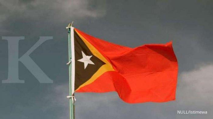 ILUSTRASI. Bendera <a href='https://manado.tribunnews.com/tag/timor-leste' title='TimorLeste'>TimorLeste</a>
